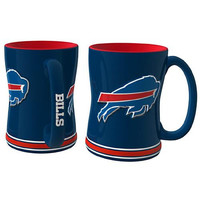 Buffalo Bills NFL Coffee Mug - 15oz Sculpted (Single Mug)