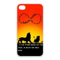 Apple iphone 4/4S rubber case Aztec Andes Tribal Pattern Gift Idea Hakuna Matata Durable ultrathin Waterproof by Distinctive Design Studio