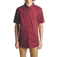 August SS Woven // Oxblood - Imperial Motion