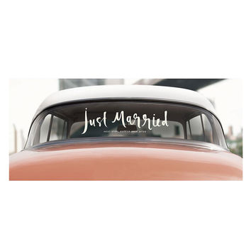 kate spade new york New York Just Married Car Window Decal