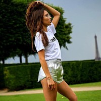 Women's Fashion Summer Leather Shorts [526039515151]