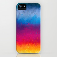 rainbow strokes iPhone & iPod Case by Emiliano Morciano (Ateyo)