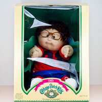 Coleco Cabbage Patch Kids New in Box, 1985 Page Elwin, Boy Brown Hair and Eyes