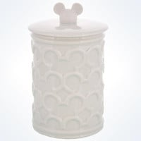 Disney Parks Mickey Mouse Icon Bath Storage Jar New