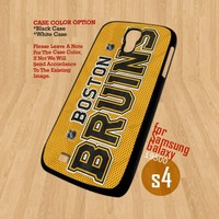 Boston Bruins NHL Team  - For Samsung Galaxy S4 i9500 Case Cover