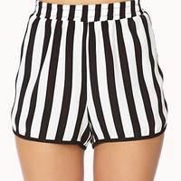 Everyday Striped Dolphin Shorts | FOREVER 21 - 2000050383