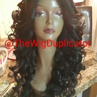 WIG MAKING SERVICES 50.00 Send Me Your Hair to Create Your Own Custom Wig