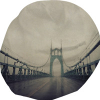 St. John's Bridge created by Leah Flores   Print All Over Me