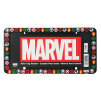 Marvel Logos License Plate Frame