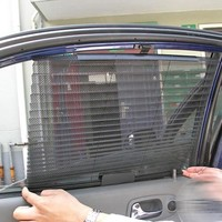 New Car Window Sunshade Curtain Black Side Rear Window Mesh Visor Shield Car Window Solar Protection ME3L