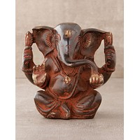 Red Tribal Ganesh