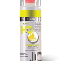 System Jo H2o Flavored Lubricant - 5.25 Oz Banana Lick