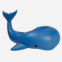 SUNNYLIFE Inflatable Moby Dick Pool Float   Pool Floats