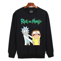 Rick and Morty halloween  Sweater sweatshirt unisex adults size S-2XL