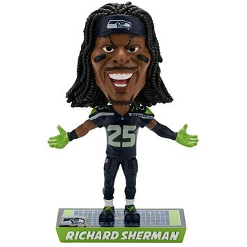 Richard Sherman Seattle Seahawks NFL Caricature Bobblehead by Forever Collectibles