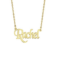 Calligraphy Nameplate Name Necklace