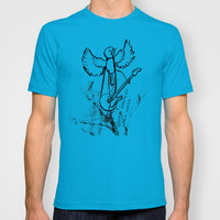 ROCKIN ROBIN T-shirt by Chris Shockley - shock schism