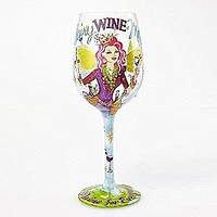 "Lolita Glassware Fairy Wine Mother Wine Glass (4054098), 9"", Multicolor"