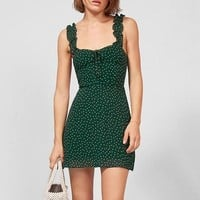 Polka Dot Ruffled Cami Dress