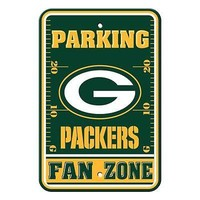 IFSB-BSI92216-NFL Green Bay Packers Plastic Parking Signs