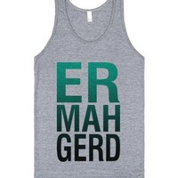 Er Mah Gerd (Tank)-Unisex Athletic Grey Tank