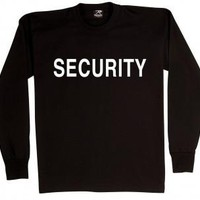 2-Sided Security Long Sleeve T-Shirt