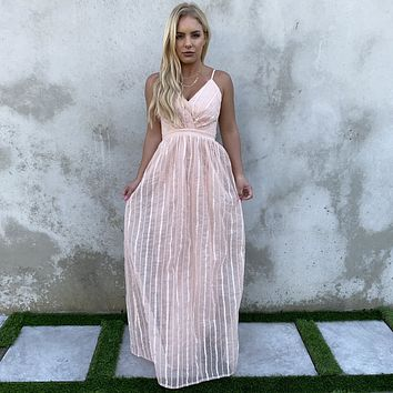 Significant Other Maxi Dress In Pink