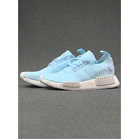 ADIDAS NMD Sky Blue Gym Sports Shoes Sneaker Shoes