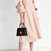 Silk-Blend Dress with Bow Details - Roksanda | WOMEN | US STYLEBOP.COM