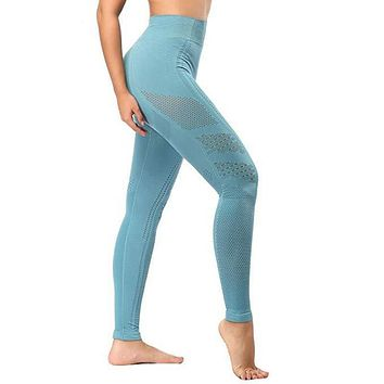 Hilda- Seamless Yoga Tummy Control Yoga Workout Pants Leggings