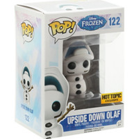Funko Disney Pop! Frozen Upside Down Olaf Vinyl Figure Hot Topic Exclusive
