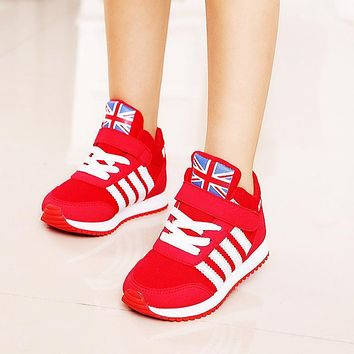 Girls shoes Baby Fashion Hook Loop kids Trainers Sneakers Boys Princess children shoes Sports Casual Shoes Girl School shoes