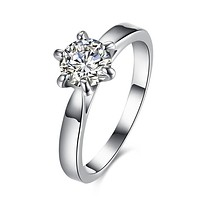 2.50 ct Round Diamond Princess Engagement Ring