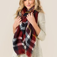 NOA plaid wrap
