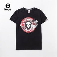 Cheap Women's and men's AAPE t shirt for sale