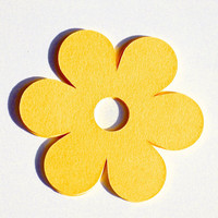 Flower Paper Tags, Crafting, Art Projects, Scrapbooking, Etsy Shop Supplies, Custom Color Combos, Any Shape Available. Product Tags