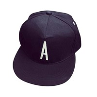 Adjustable Baseball Cap Solid Color Leisure A R M Letters Embroidery Baseball Cap Gorras #2132