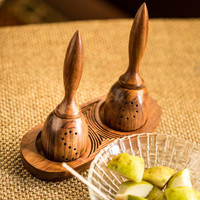 """""""Bell"""" Salt and Pepper Shakers"""
