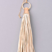 Break Free Necklace: Beige