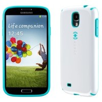 Speck Products CandyShell Samsung Galaxy S4 Case  - White/Caribbean Blue