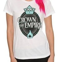 Crown The Empire Crown Girls T-Shirt - 10014327