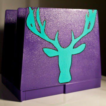 Sale 35% off - Deer paper organizer - Upcycle