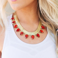 Egyptian Jewels Choker Necklace