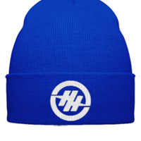 hunter hayes embroidery hat - Beanie Cuffed Knit Cap