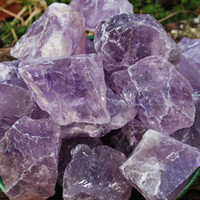 AMETHYST POINT Raw Natural Crystal Gemstone Nugget Small - Stone Of The Mind, Psychic Development