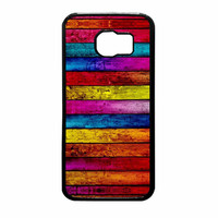 Wood Stripes Samsung Galaxy S6 Case
