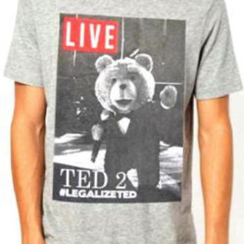 Ted T-Shirt - Live Cover