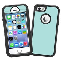 "Mint ""Protective Decal Skin"" for OtterBox Defender iPhone 5s Case"