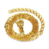 Gold Plated 18K Necklace Chain