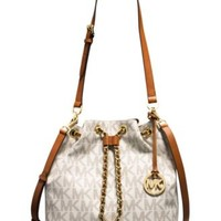 MICHAEL Michael Kors Frankie Large Drawstring Convertible Shoulder Bag | macys.com